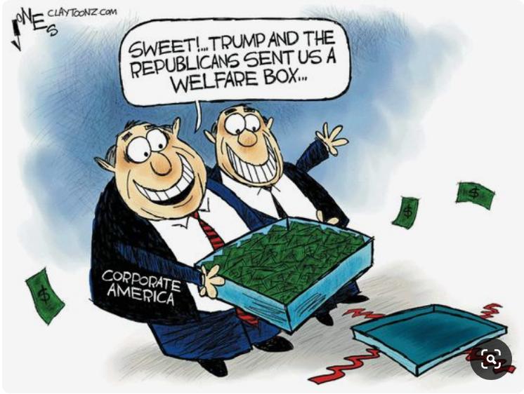 Corporate Welfare by Clay Jones: bit.ly/2P1GYfv