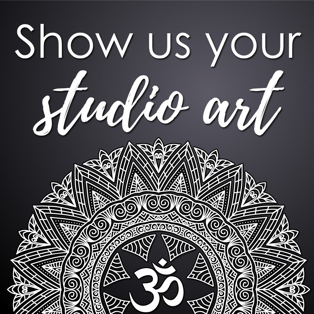 Do you have some fabulous wall art in your studio? Or do you practice in a studio that does? We would love to see your zen studio art!  Send your photos to martin@ommagazine.com and tell us all about it! #yogastudio