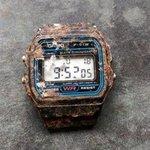 カシオ凄すぎる!!20年経って庭で土の中から見つかった・その時計はまだ動いていた!!!