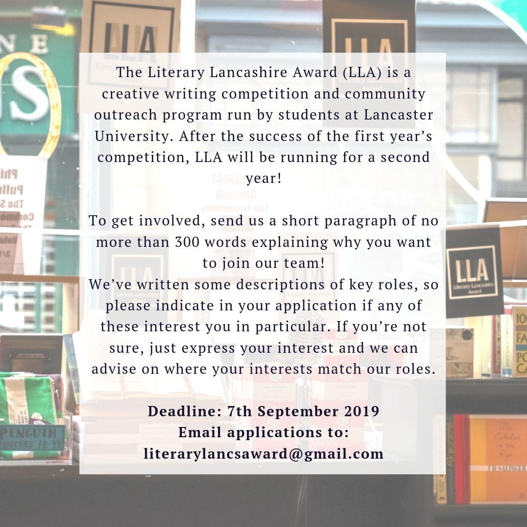 English Literature & Creative Writing (@lancaster_words