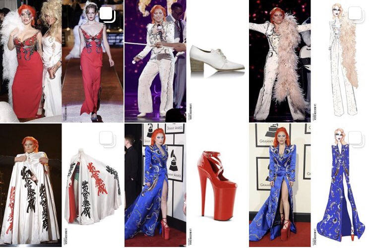 Back in Time: The Grammys 2016 fashion credits are now up on my Instagram! #LadyGaga wore custom @MarcJacobs all night long <br>http://pic.twitter.com/tT5HMFCQ26