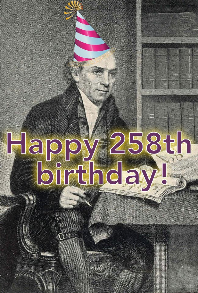 test Twitter Media - 🥳 It's party time at BMS! 🥳A very special happy birthday to BMS founder William Carey, who would have been 258 over the weekend!! 🎉🎉If you could speak to William Carey today, what would you say to him? Let us know! 👇👇 https://t.co/WpSz9SJBZp