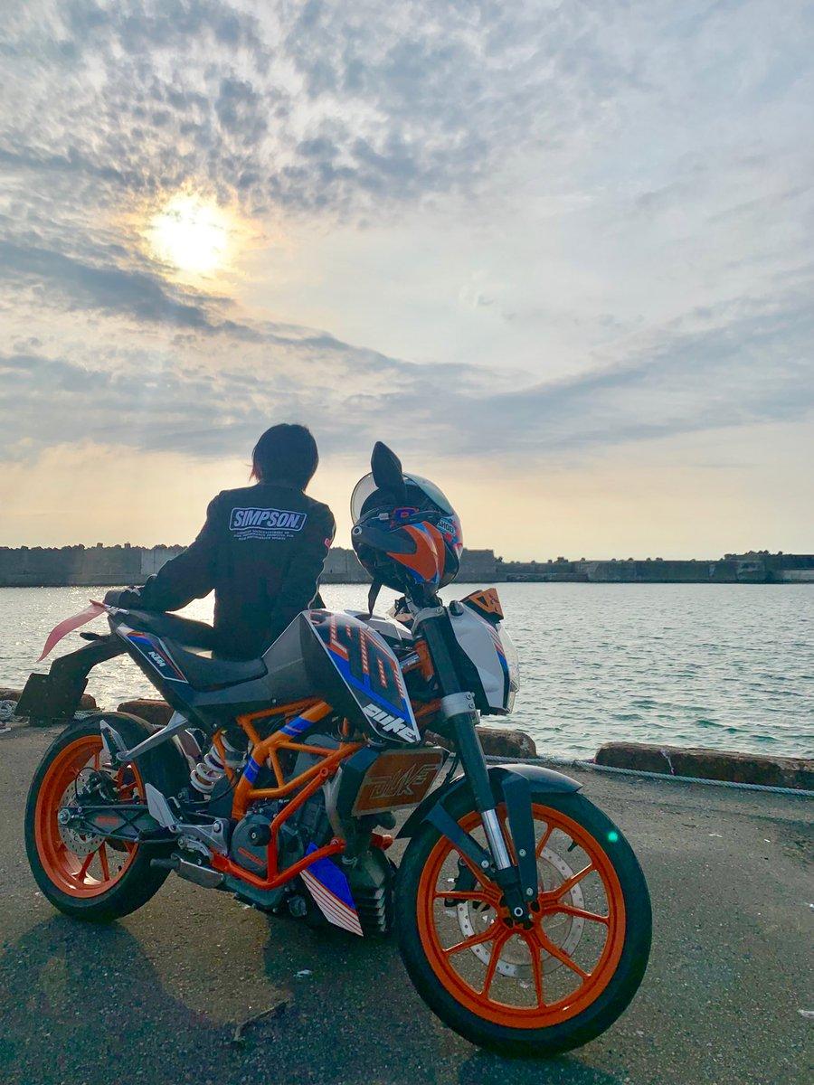 #バイクの日 らしい。私は今日も今日とて普段通りバイクに乗ってる。いつも元気に走ってくれてありがとう相棒!