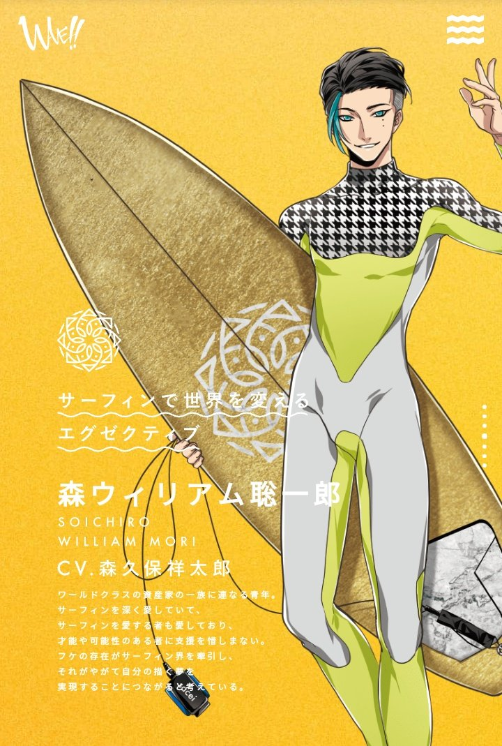 Mori William Souichirou - Wave!! Surfing Yappe!!