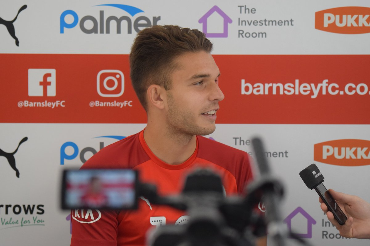 🗣️ I feel really positive since arriving and cant wait to get out there on the pitch. Patrick Schmidt is now on press duty ahead of the trip to @BCFC tomorrow night. #YouReds