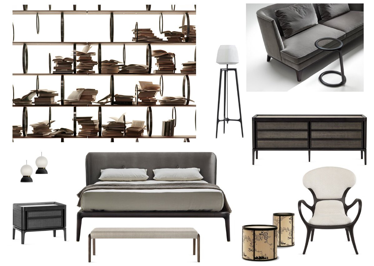 A Collage Of Fab Finds From Ceccotti Collezioni Featuring