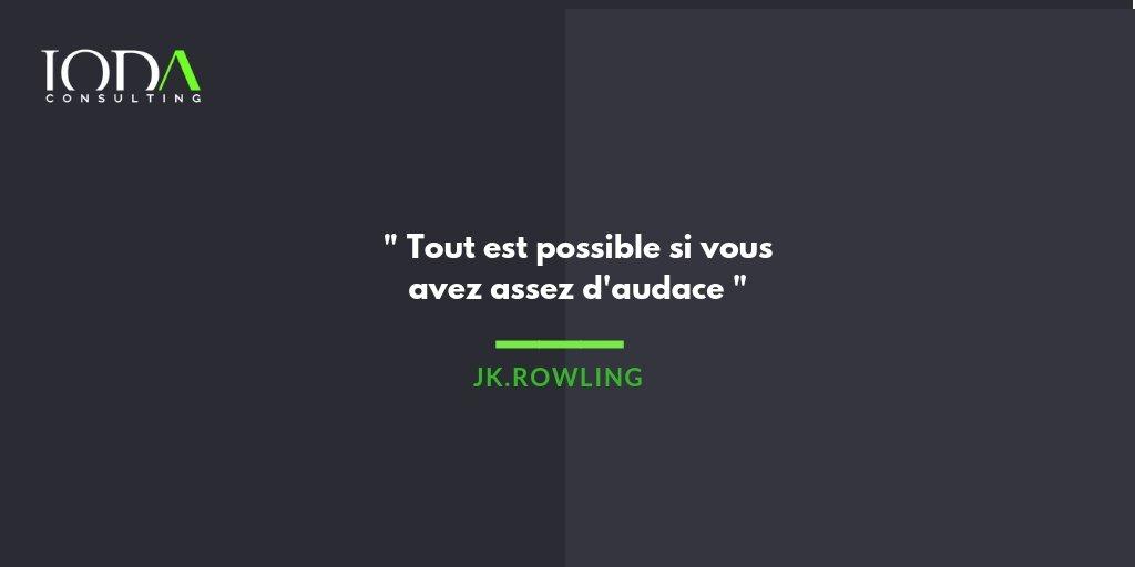 Ioda Consulting On Twitter Mondaymotivation Soyez Audacieux Et