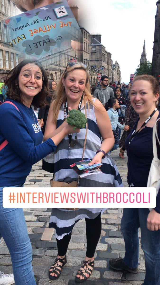 #thevillagefate  #interviewswithbroccoli #edfringe