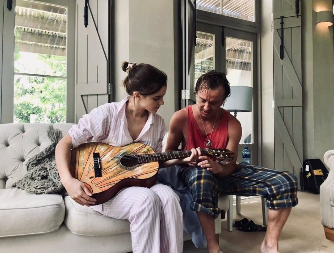 RT @kitkatsmexw: Emma Watson and Tom Felton reunited again and nothing makes me happier, bUONGIORNISSIMO https://t.co/oOOtA3pIIb