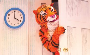 FAMILIES: Get involved with the teatime mayhem of The Tiger Who Came to Tea at @WatersideArts, this Tuesday and Wednesday. Cant fail to delight and enthral! creativetourist.com/event/the-tige…