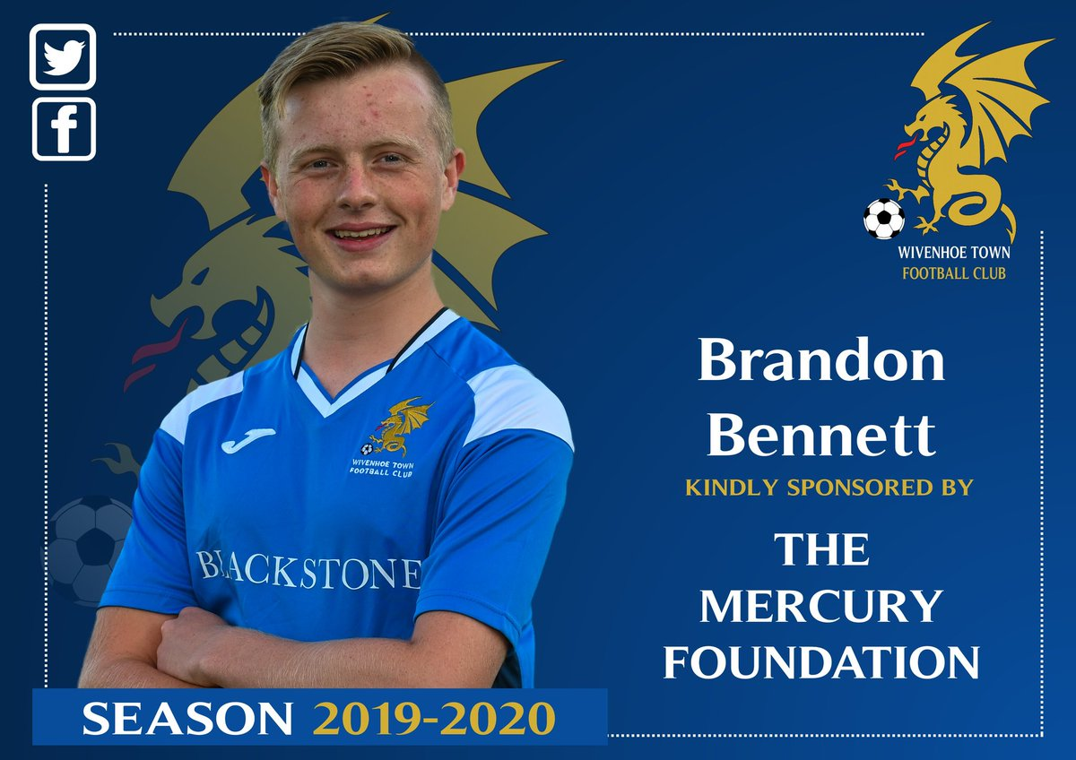Thank you to the Mercury Foundation for sponsoring midfielder Brandon Bennett this season.<br>http://pic.twitter.com/NRrvUAlciS