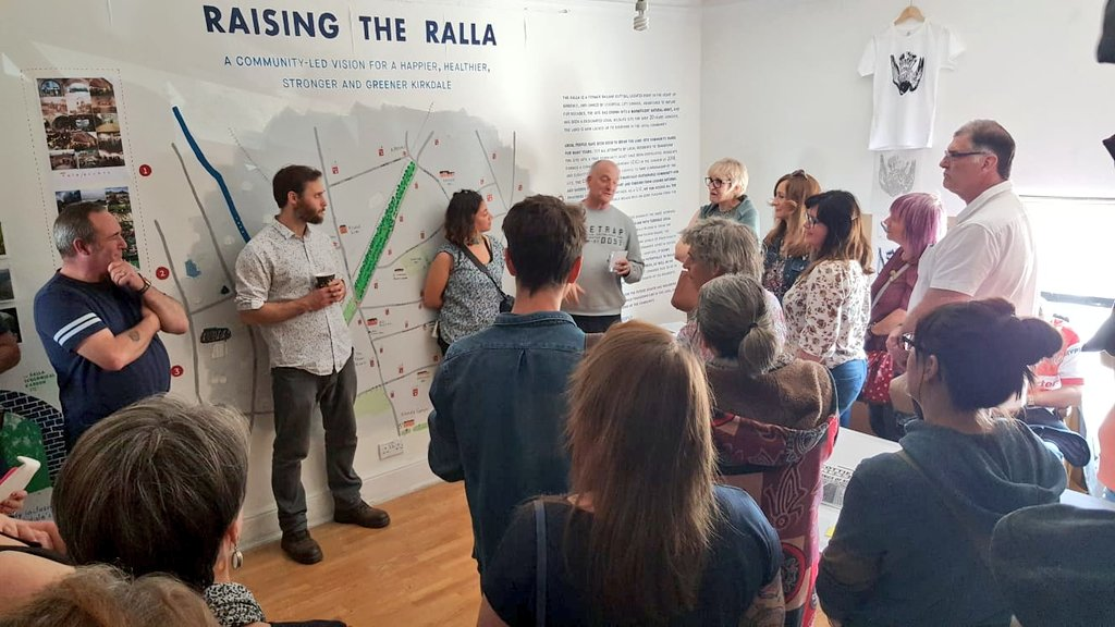 DPG: KIRKDALE space   We've decided to extend our current show with @RallaThe until Oct 2019. We think it's such a VITAL issue it should stay longer to help raise further awareness. We'll announce extra discussion days soon...1/2<br>http://pic.twitter.com/1faG16tkfr