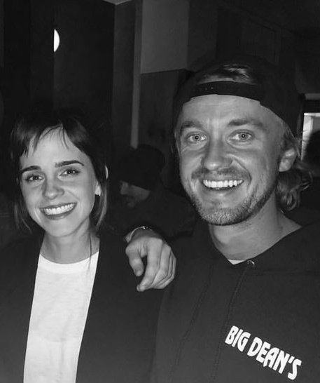 RT @xmavilisiyah: emma watson and tom felton.that's it.that's the tweet. https://t.co/K2EIAsat6w