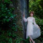 Image for the Tweet beginning: @yun_phot @BimageTokyo @yun0119yun ブログ更新🆙 スレンダー美人・Yunちゃん74 『旅の途中〜金谷・石の街を訪ねて4』   石切場と緑と白い妖精✨  #Yun @yun_phot #美マージュTokyo @BimageTokyo #旅の途中