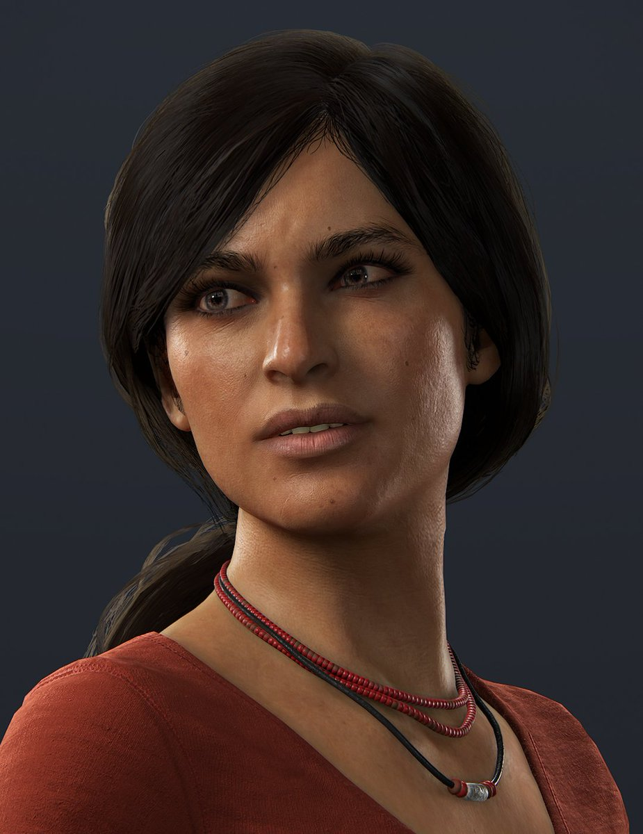 Chloe Frazer (Uncharted)  She's an awesome treasure hunter. She was a great addition to Nathan Drake's friends in Uncharted 2.   I'm looking forward to playing Lost Legacy someday. <br>http://pic.twitter.com/ssK4pZtFqK