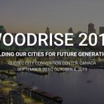 Image for the Tweet beginning: #Woodrise2019 is coming: Sept 30