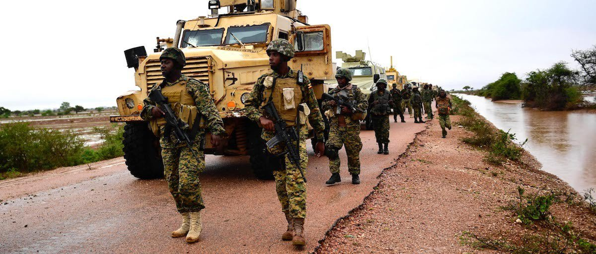 #JUSTIN: #AMISOM BNDF was hit by an IED while conducting foot patrol along the Jowhar Airfield-Jowhar town. <br>http://pic.twitter.com/OrnlpPej1G