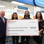 Image for the Tweet beginning: .@CVSHealth announced a $20K grant
