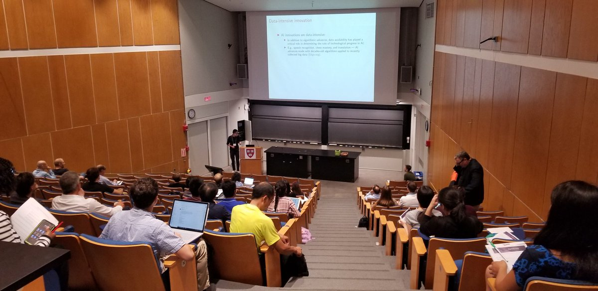 """.@david_yang kicks off this year's @HarvardCMSA #BigData Conference with """"Data, Autocracies, and the Direction of Innovation"""" <br>http://pic.twitter.com/F6FbU0smK8"""