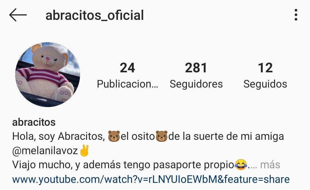 Abracitos_Oficial es la guantá que necesitáis los que os metéis con esta niña! instagram.com/abracitos_ofic…