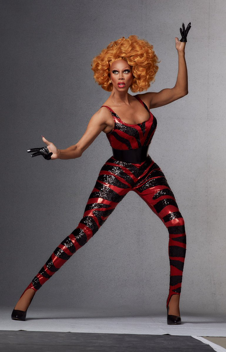 RuPaul for INTERVIEW Mag, Sept 2019