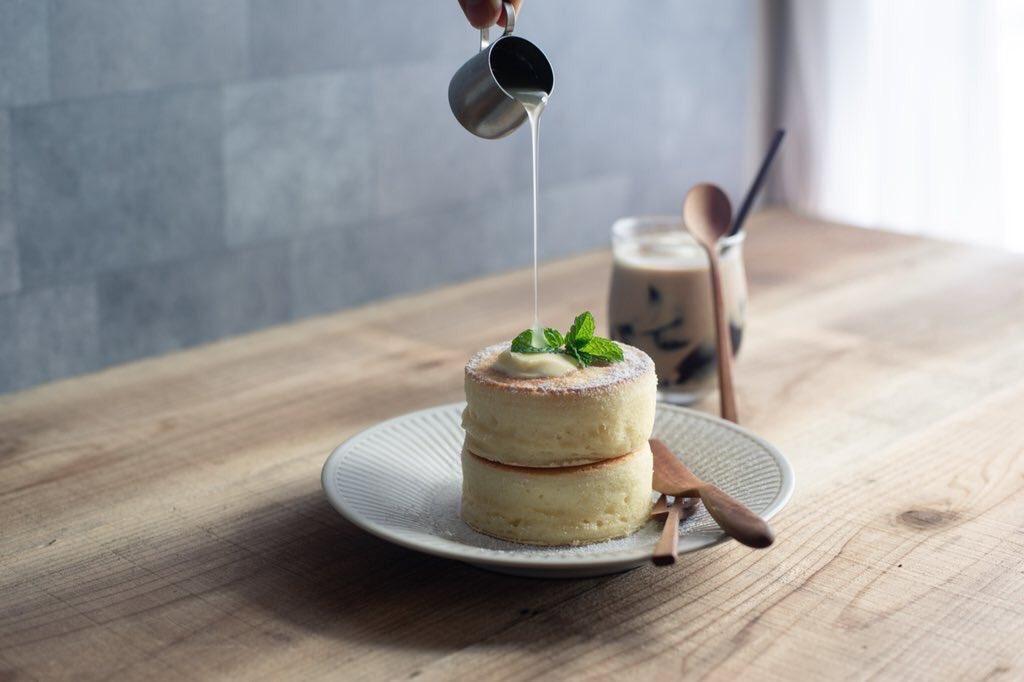 私が作るホットケーキの世界 .