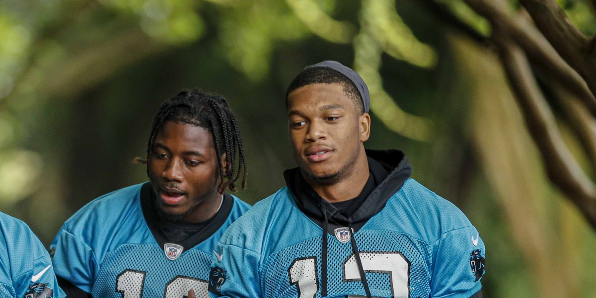 Ron Rivera on WRs Curtis Samuel, D.J. Moore: I think those guys dont have ceilings nfl.com/news/story/0ap…