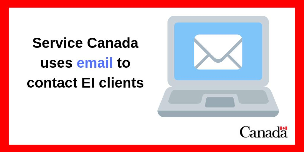 Service Canada Sur Twitter Have You Received An Email From Service Canada If We Have Questions About Your Ei Claim We Might Send An Email Asking You To Call Us We Ll