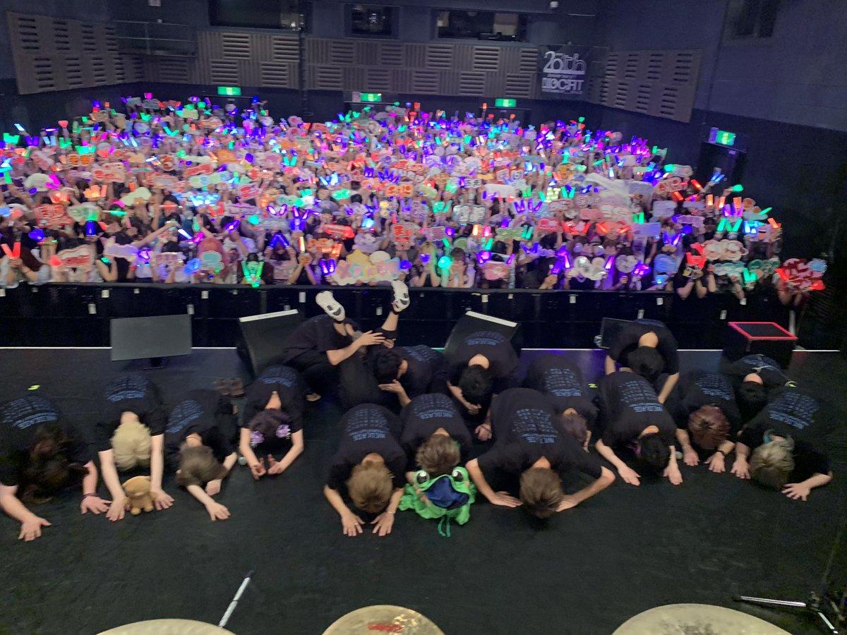 ニコキャス大阪夜公演ありがとうございました!!次回は名古屋公演となります。このまま名古屋公演も楽しんでいきましょう✊✌️🖐