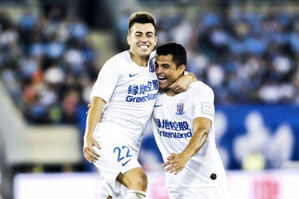 Gol de Moreno mete al Shanghái en la final de la Copa