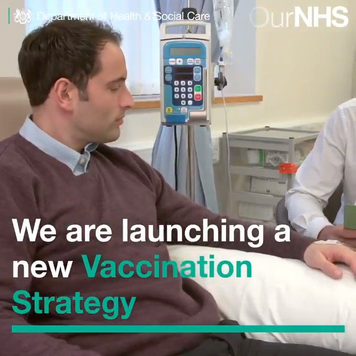 Today the Prime Minister will announce plans to boost the number of children receiving life-saving vaccinations. ▶️ gov.uk/government/new… Were responding urgently to @WHOs confirmation that the UK has lost its 'measles-free' status. #ValueofVaccines @PHE_uk #VaccinesWork