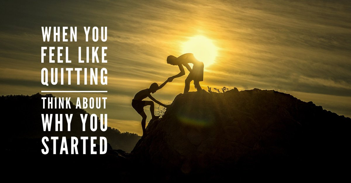 Anything that's worth doing is never easy. I'm right there with you. Let's make it a great Monday!  #morningmotivation <br>http://pic.twitter.com/DuwT0HDoaf