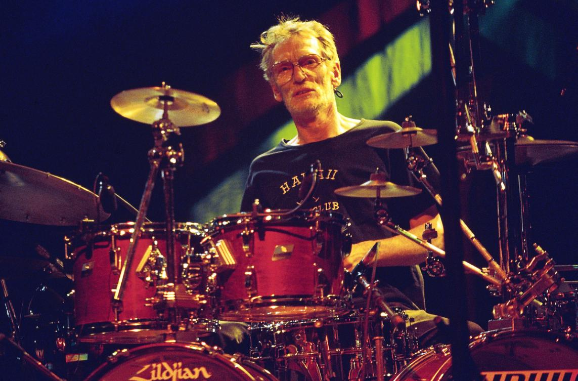 Legendary drummer Ginger Baker turns 80 today. Watch him revisit his jazz roots with his Nineties trio featuring guitarist Bill Frisell and bassist Charlie Haden rol.st/2yZC7AG