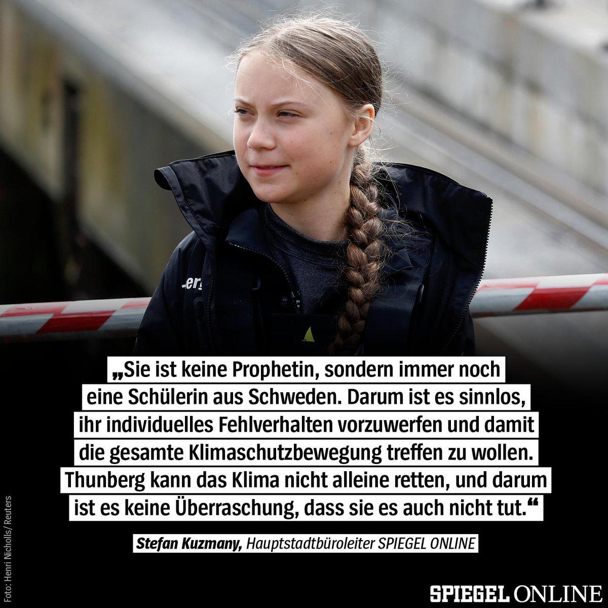 """""""Es ist geradezu übermenschlich, was Greta Thunberg in diesem einen Jahr erreicht hat"""", schreibt @kuzy in seiner Kolumne. """"Deshalb ist es jetzt an der Zeit, sie ziehen zu lassen."""" https://t.co/bmcvOdU9c9 https://t.co/GLCBxC9GAO"""