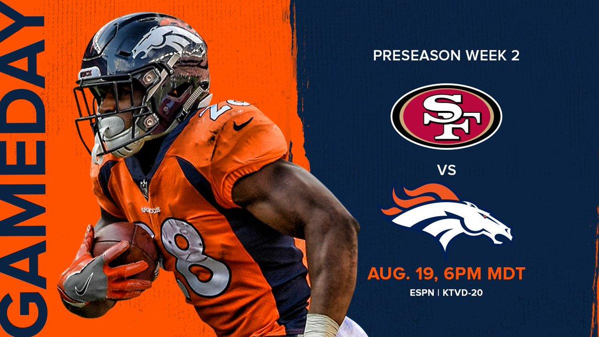 @Broncos's photo on #SFvsDEN
