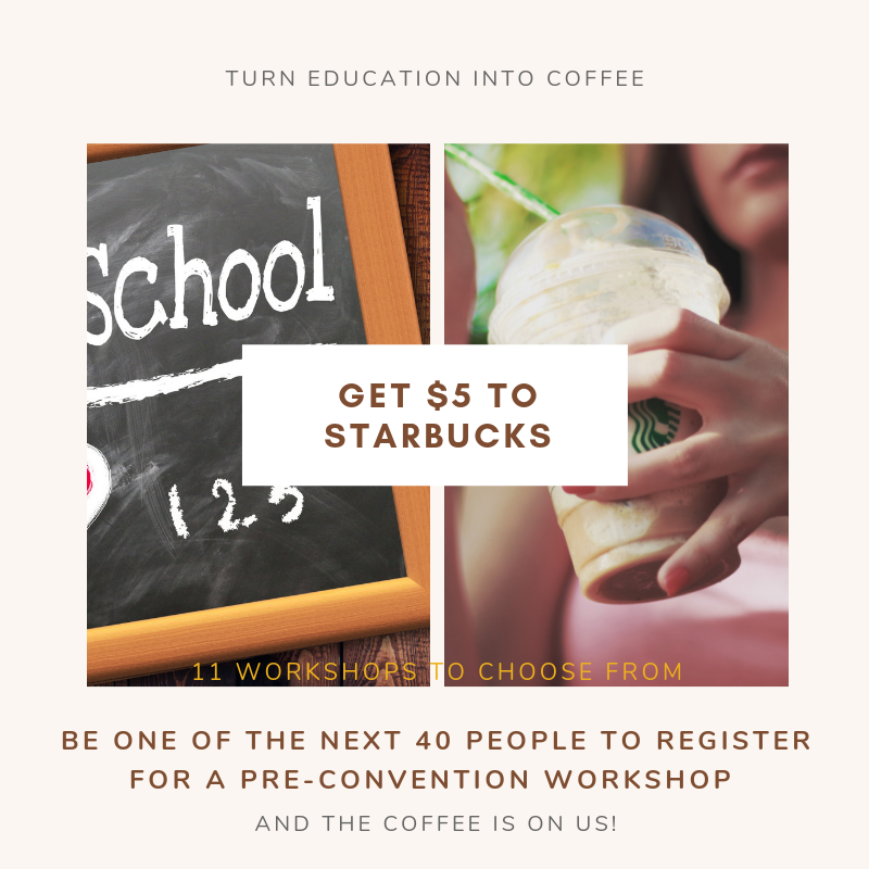 We know back to school is busy so take a minute and sign up for a #ProfessionalDevelopment pre-conference workshop. Starting today the next 40 registrants get a $5 gift card to Starbucks!  #ACTFL2019 #WLteach #langchat https://t.co/ABVkzFmsz7 https://t.co/8KgYyoVrPF