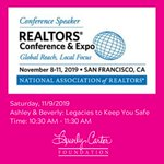 We hope you're making plans to join us at NAR Annual in November! #RealtorSafety