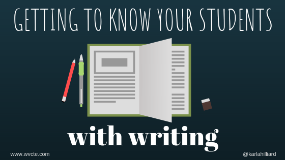 The single most important thing we can do as teachers is know our students and honor their identities. Here are three writing assignments to help you do that! @ncte #nctevillage #aplitchat #teachlivingpoets  https:// wvcte.com/2019/08/19/get ting-to-know-your-students-with-writing/  … <br>http://pic.twitter.com/srJMoHlIfj