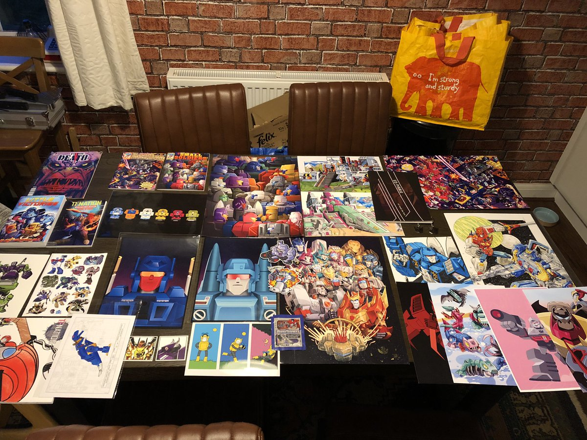 I heckin love how talented and creative the community is and the stuff they bring to @tfnationltd.  I could have gotten so much more but space and cash reserves said no. All you guys rock!