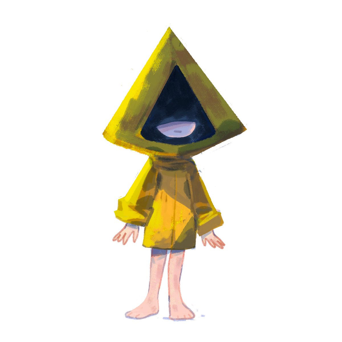 So excited for Little Nightmares 2! Here's a Six doodle :3  #Littlenightmares<br>http://pic.twitter.com/b0HujGg7jS