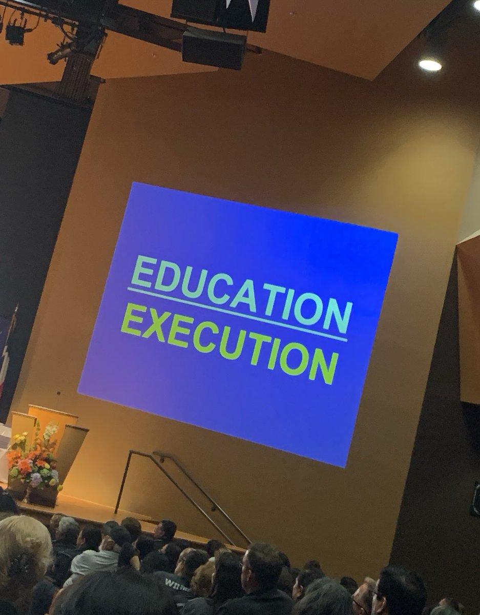 Let's foster a love  of reading  @DannyBrassell #DannySpeaks @WeslacoISD Convocation #WISDWeReadWeLead #WeslacoISDTheRightChoice<br>http://pic.twitter.com/ktC90WE4PG
