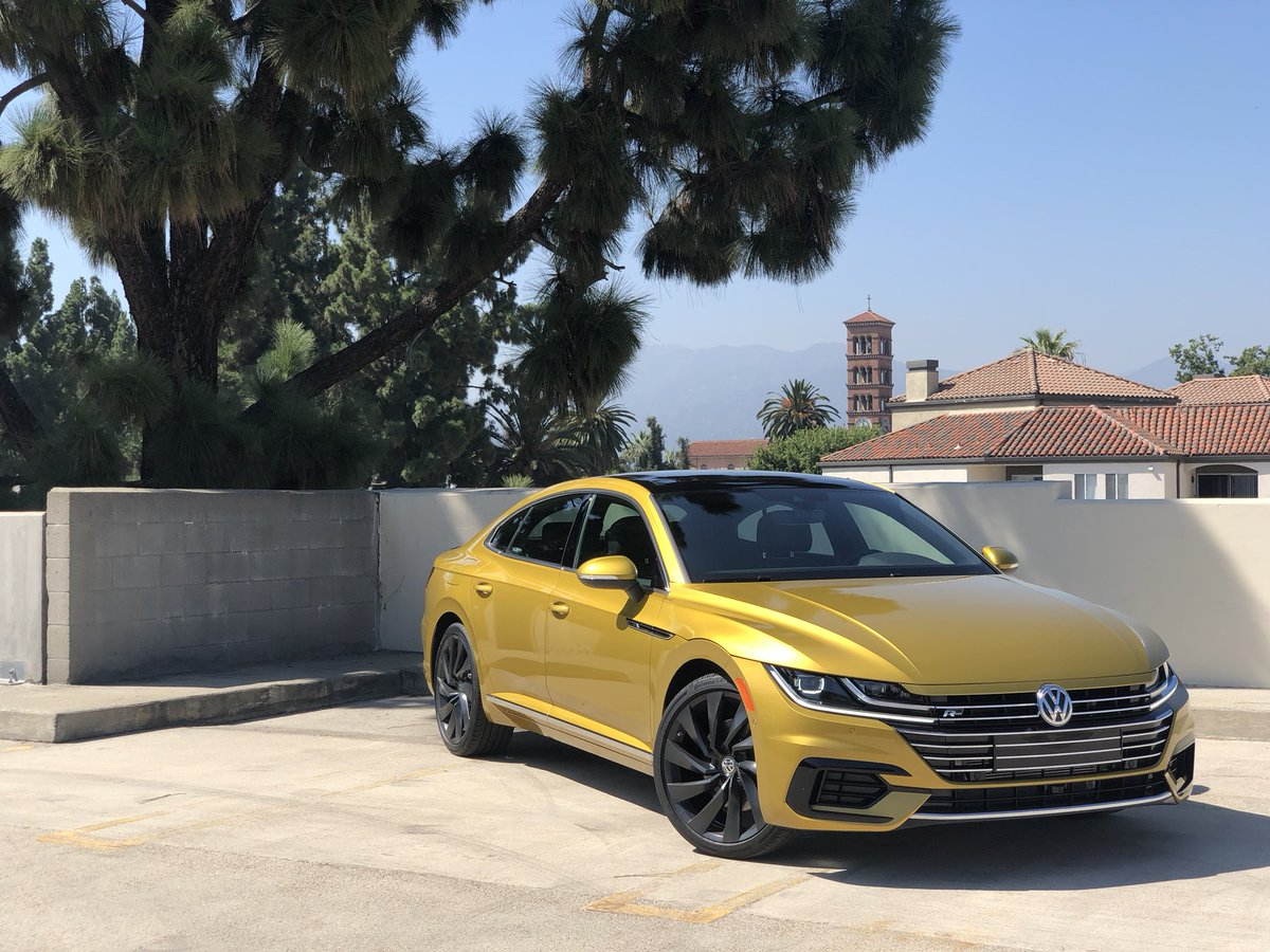 Guys I think the VW Arteon I'm testing this week is dehydrated.