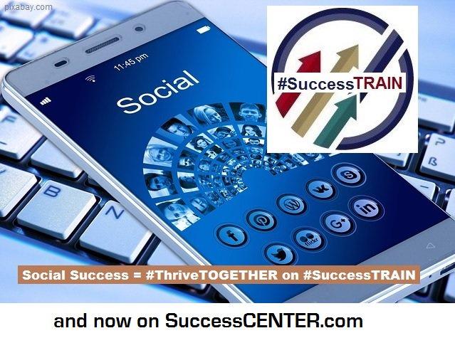 #ThriveTOGETHER on #SuccessTRAIN Business Monday & Follow the Leaders @RocketCityTeam @thecrowdview @FrancieVWirkus @AimHighLtd @BryantCPA @DrAdrienneMeier @NexWebSites @Dianne__LadyD @ToShawnAnderson @JaniceKobelsky @Hazloe3 @yourfriendpam @fndinya