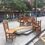 Image for the Tweet beginning: Hoy en la avenida Molino.