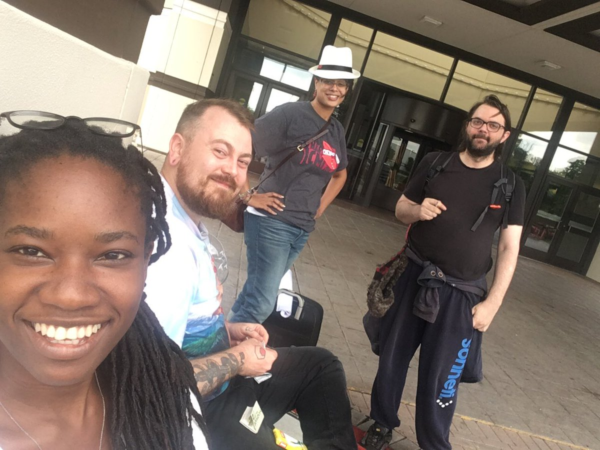 Last goodbyes before heading out. I had such a wonderful time! Met amazing people. Learned some things. Might make a video... #ICMI2019 @CountDankulaTV