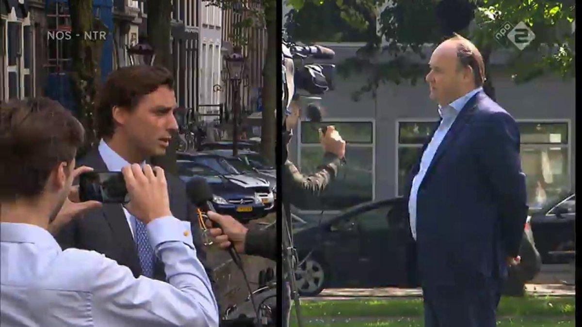 """Thierry Baudet laconiek over kwijtgeraakte senatoren: """"Jammer dat het zo gaat"""""""