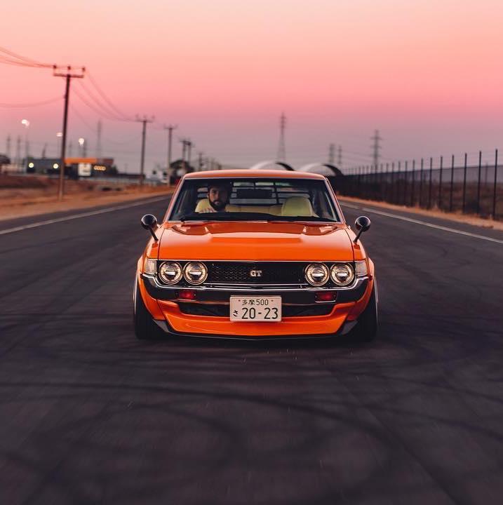 What makes your ride special to you?  Photo by IG: j0shbarnett #KumhoTire  #celica #toyotacelica #ra23 https://t.co/iveRh0REVf