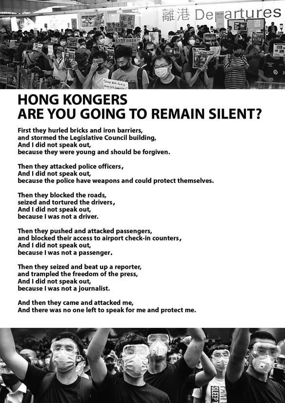 RT @ianbremmer: Via Chinese state media.   Yes, they really compared Hong Kong protesters to the Holocaust. https://t.co/5gsrZ4K7tF