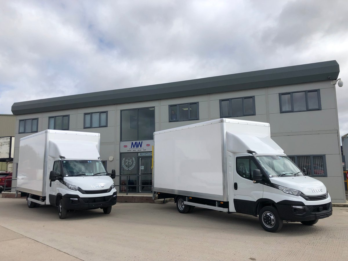 test Twitter Media - 5t Iveco Daily Box Bodies with 500kg Dhollandia Column Tail Lifts for @IEdatasolutions   With thanks to @ProhireLimited   @IVECOUK #Iveco #Daily #BoxBody #TailLift #Dhollandia @DhollandiaInfo #MWHull #KeepingBritainMoving https://t.co/1DnWoA6kxm