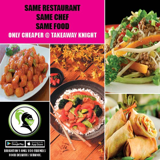 Takeaway Knight On Twitter Brighton Hove Only Eco